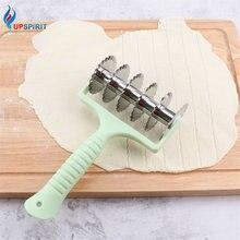 Upspirit Rolling Teig Cutter Edelstahl Pizza Rad Cookie Keks Schaber Slicer Fondant Kuchen Form Backen Gebäck Werkzeuge