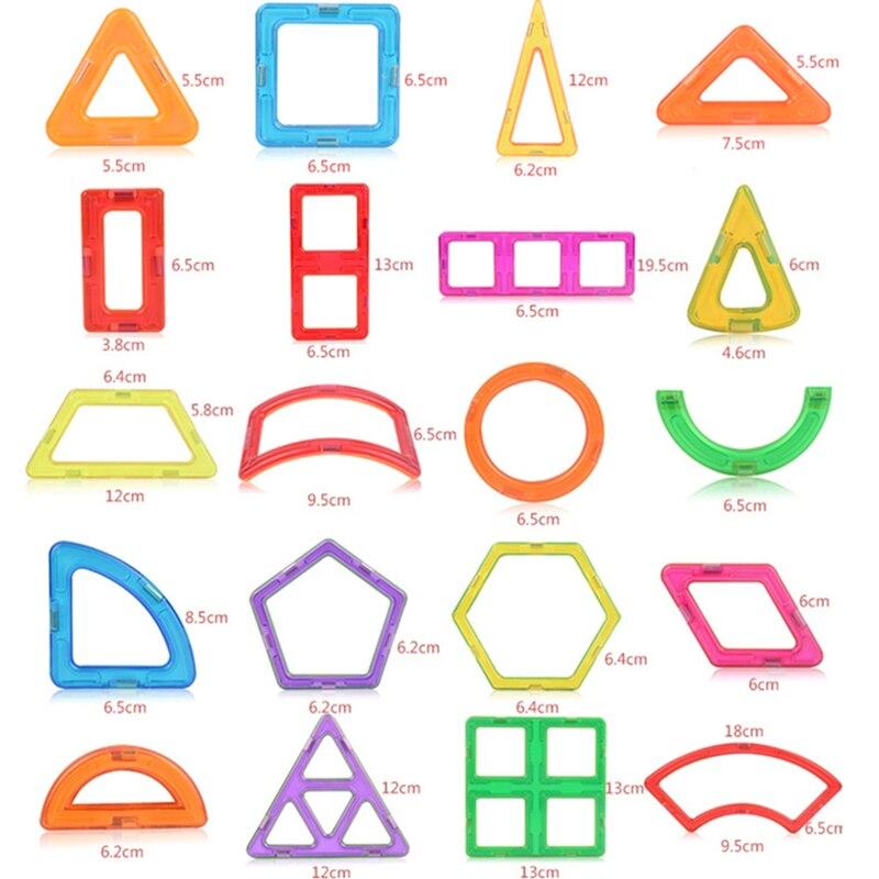 1 pçs magnético magnético diy blocos de construção peças brinquedos de construção para crianças designer brinquedos magnéticos ímã modelo de construção brinquedo