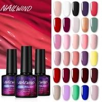 nailwind gel nail polish 8ml manicure set uv led poly painting gel nail art design base top primer coat nail gel varnish