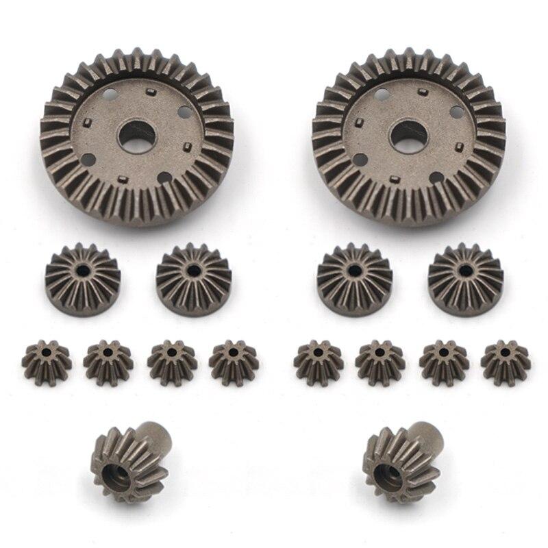WLtoys 0012 Control remoto coche 12428-BC 12429 de 12628 del eje de accionamiento trasero activo diferencia De 10T 12T 16T 30T de Metal piezas de actualización