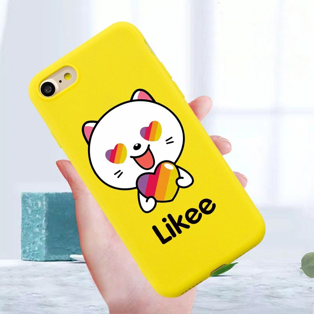 Capa de telefone para iphone 6 s 7 8 x xs max xr 11 pro max funda para o iphone 6 6 s 7 8 x urso do gato amor coração dos desenhos animados amarelo macio silicone