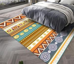 Rectangle Modern Decor Rug Household Sofa Yoga Blanket Mat Nordic Geometric Carpets Living Room Bedroom Study Bedside Carpet