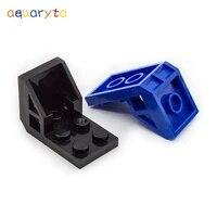 aquaryta 20pcs bracket 2x3x2 space seat building blocks moc parts compatible with 4598 educational diy assembles particles toys
