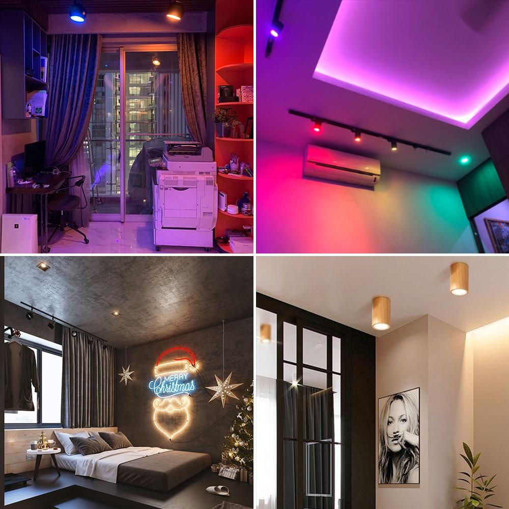 Gledopto 3PCS Zigbee Smart Home AC100-240V Ceiling Spotlight LED Bulb Light GU10 4W Pro Suitable For Kitchen Bedroom Corridor enlarge