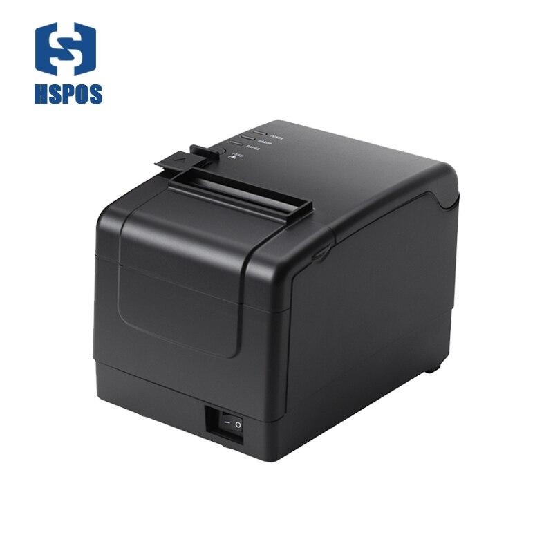 طابعة إيصالات حرارية منخفضة التكلفة ، مع قاطع تلقائي ، USB ، WiFi ، J80B ، دعم برنامج تشغيل درج النقود