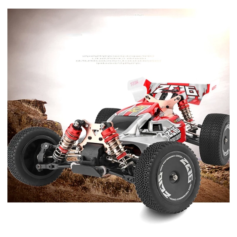 WLtoys 144001 2.4G Racing RC Car Competition 60 Km/h Metal Chassis 4wd Electric  Formula  Remote Control Toys enlarge