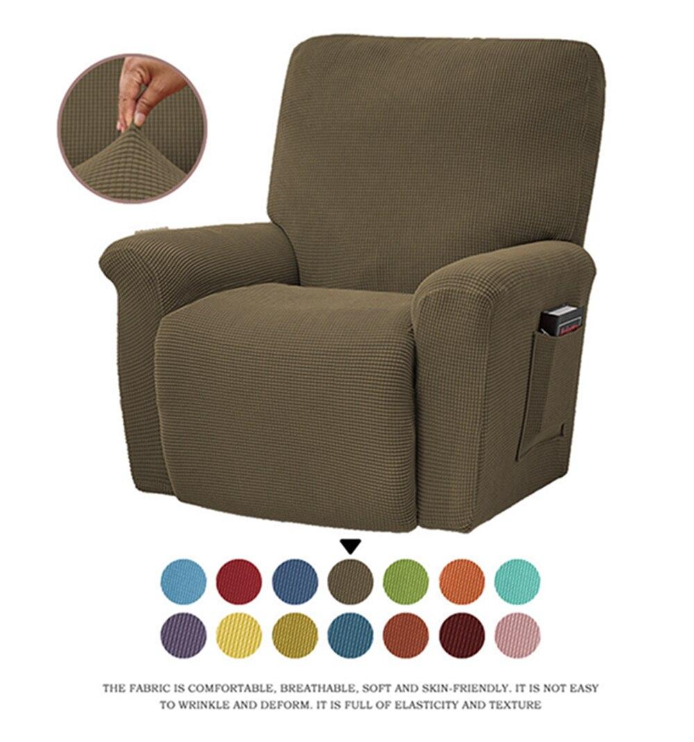 Yingya كرسي غطاء أريكة كرسي مرونة الغلاف بلون كرسي أريكة حامي شامل كرسي يغطي كرسي استرخاء