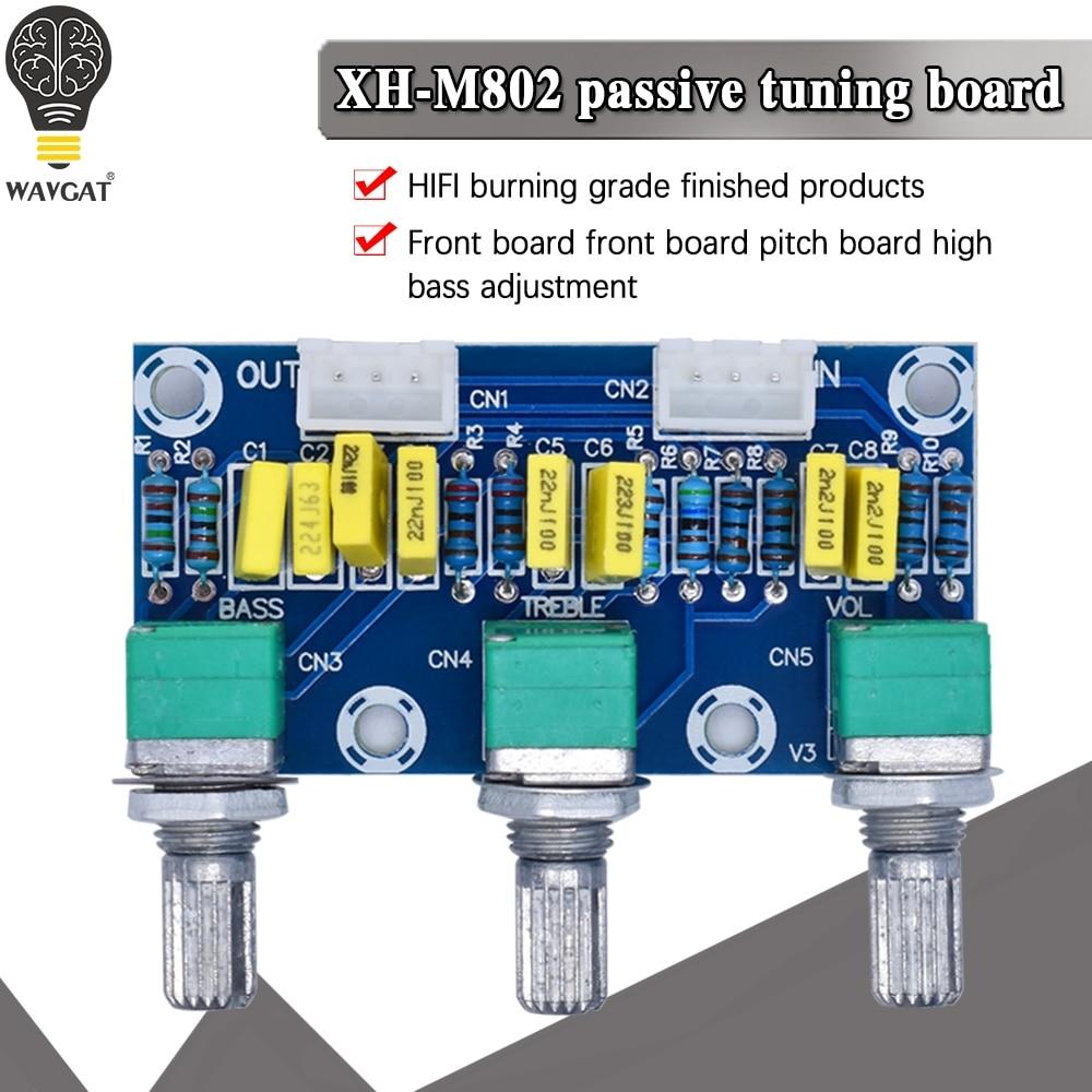 XH-M802 tablero Amplificador de alta y baja mezclador de voltaje Placa de...