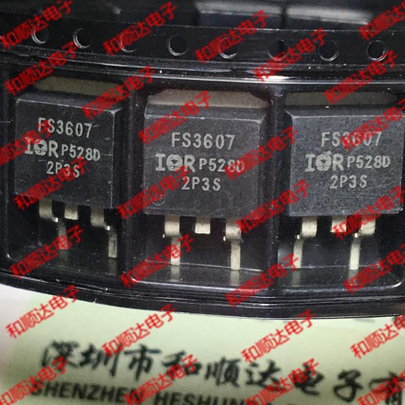 10 unidades/lote FS3607 IRFS3607, nuevo punto a-263, 75V, 80a