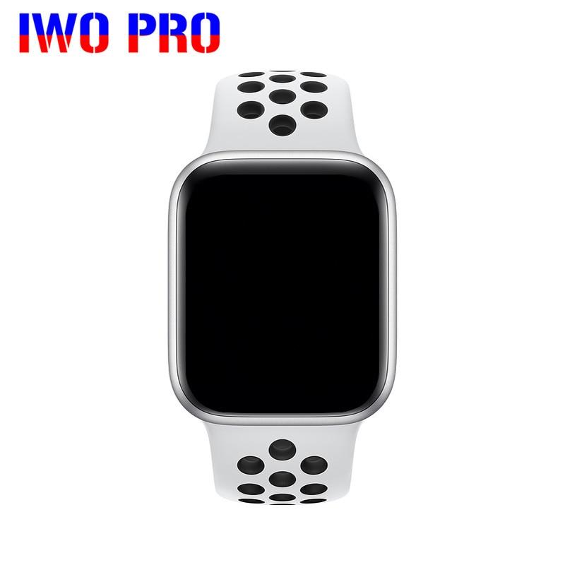 Iwo pro f9 f8 pro relógio inteligente 2020 à prova dwaterproof água freqüência cardíaca tela de toque completa smartwatch para apple android relógio pk w26 ak76