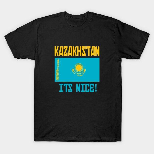 Camiseta de hombre Kazajstán es bonita camiseta de mujer