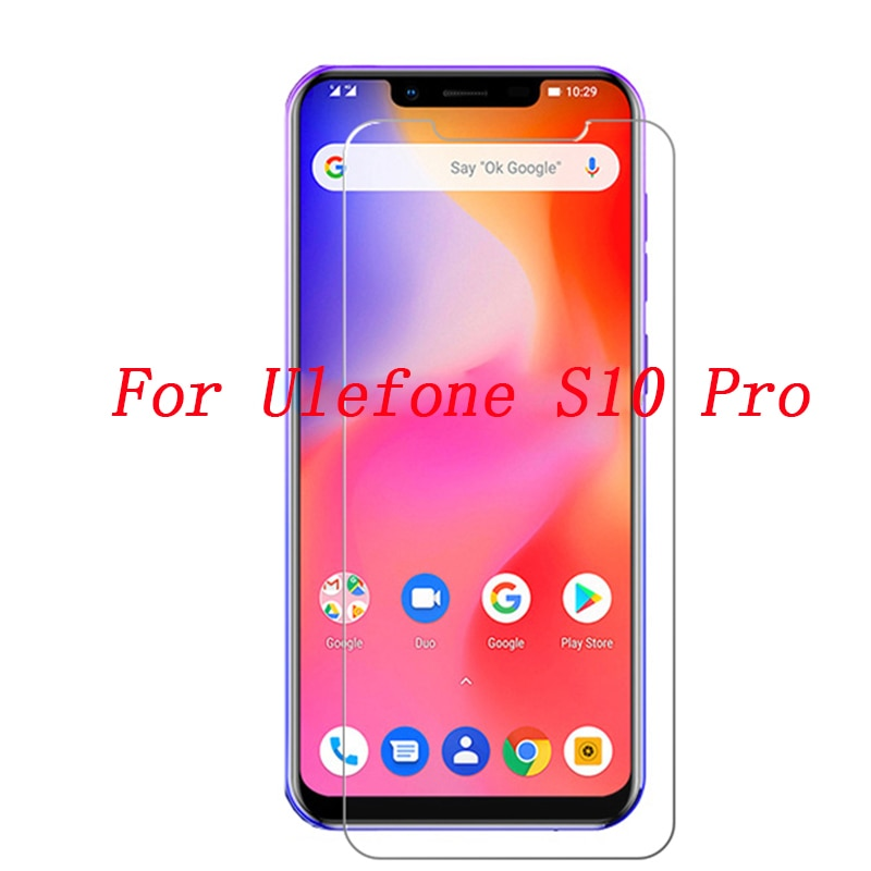 For ulefone S10 Pro Tempered Glass Explosion-Proof Phone Screen Protector Film ulefone S 10 Pro Mobi