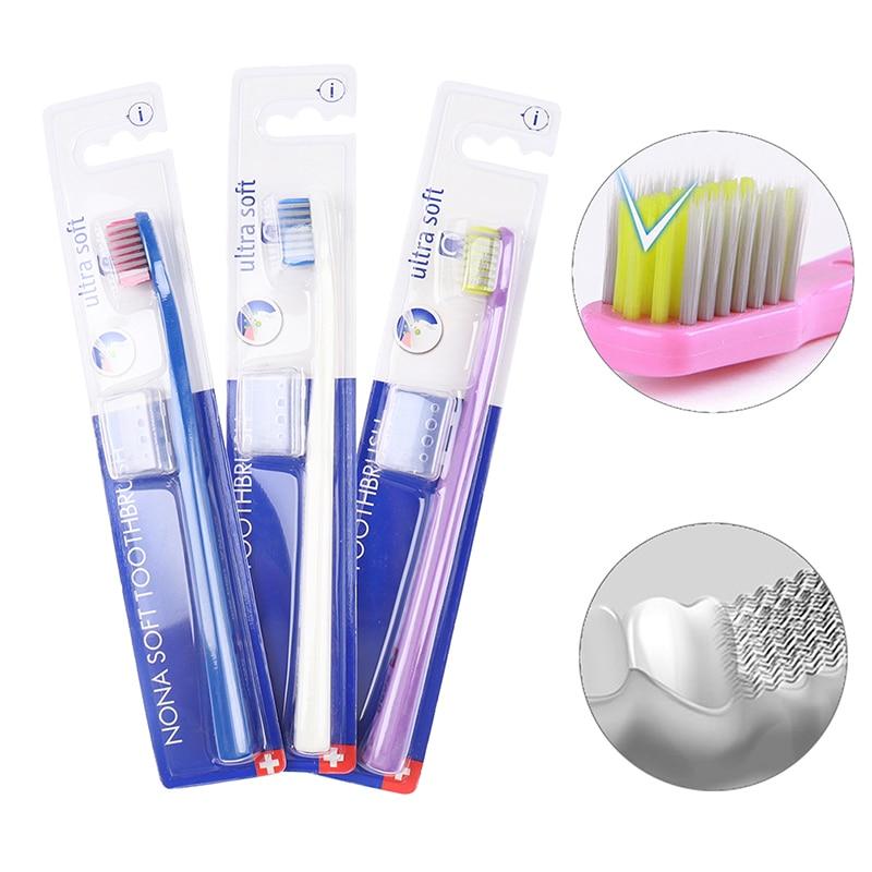 U форма ортодонтическое зубная щетка 0,15 мм ультратонкий мягкий щетина зубы щетка скоба межзубный промежуток дента нить