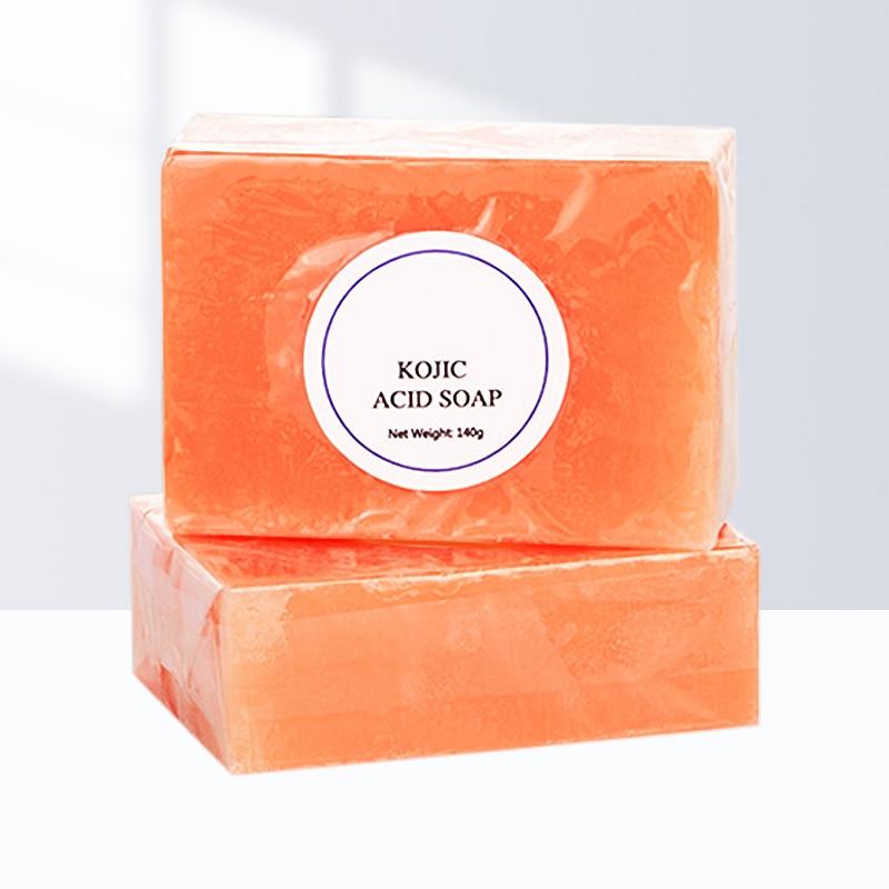 Dark Black Skin Lightening Soap Kojic Acid Whitening Soap Kojic Acid Glycerin Brighten Face Body Skin Bleaching Soap Skin Care