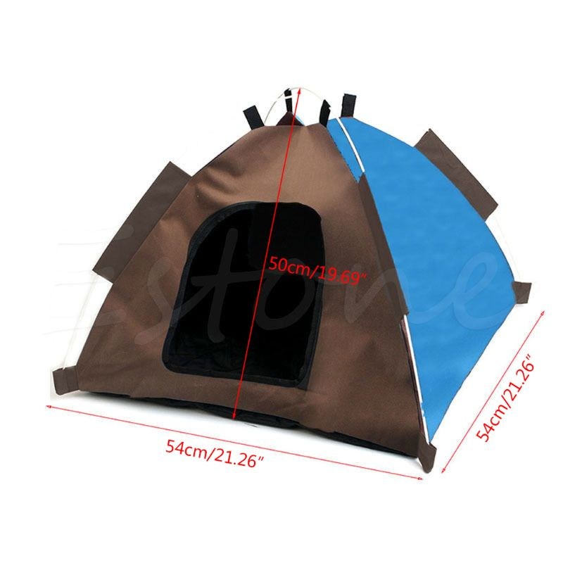 Dog Camping Gear Set with Pet Tent and Outdoor Bed Medium Foldable Doghouse enlarge