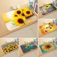 home letter print doormats rectangle non slip door mat bedroom kitchen entrance print floor mat doormats
