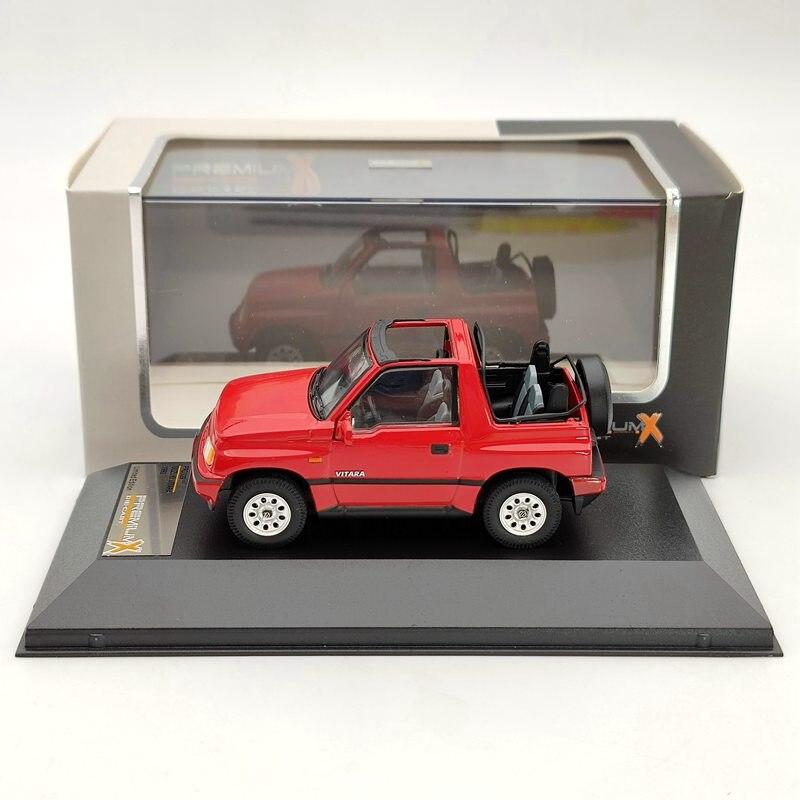 1:43 Premium X For SUZUKI VITARA Convertible 1992 Red PRD329 Diecast Models Car