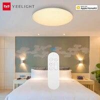Yeelight     plafonnier LED Intelligent 32W YLXD60YL  anti-poussiere  telecommande via application Mobile  compatible Apple Homekit  mise a niveau