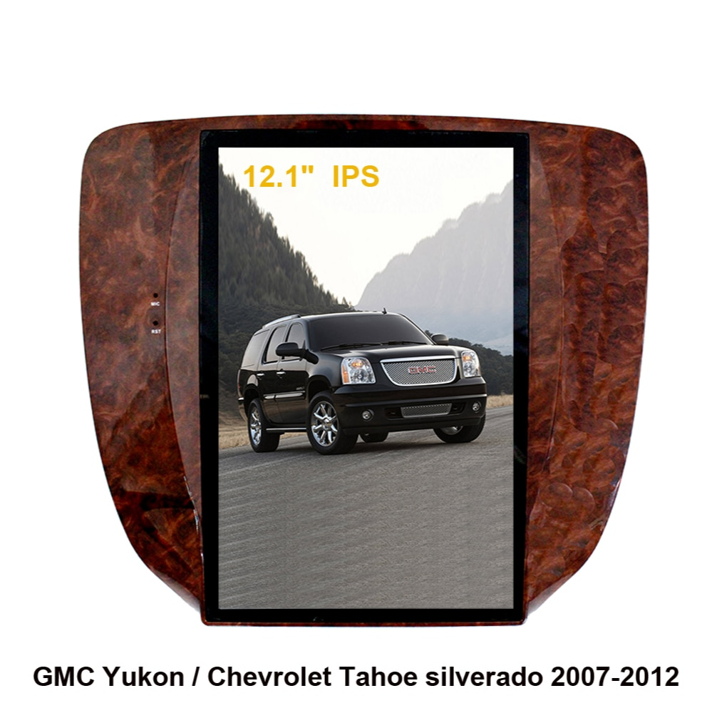Tesla Style Screen Android 9.0 Car GPS Navigation For GMC Yukon/ Chevrolet Tahoe/Chevrolet 2007-2012