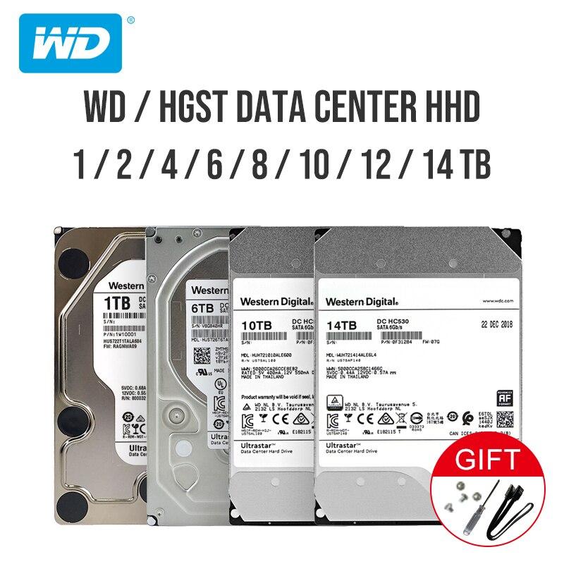 "Western Digital He Ultrastar DC HC530 Enterprise Hard Drive 3.5"" SATA3 256MB 6Gb/s HDD 1TB 2TB 4TB 6TB 8TB 10TB 12TB 14TB"