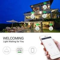 Interrupteur variateur de lumiere LED WiFi intelligent  bricolage  application Smart Life Tuya  telecommande 1 2 voies  fonctionne avec Alexa Echo Google Home