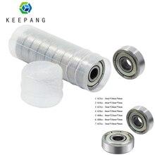 20pcs 623zz 624zz 625zz 626zz 635zz 608zz 688zz Ball Bearing Chrome Steel Ball Bearings 3D Printer Parts bearing Pulley Wheel