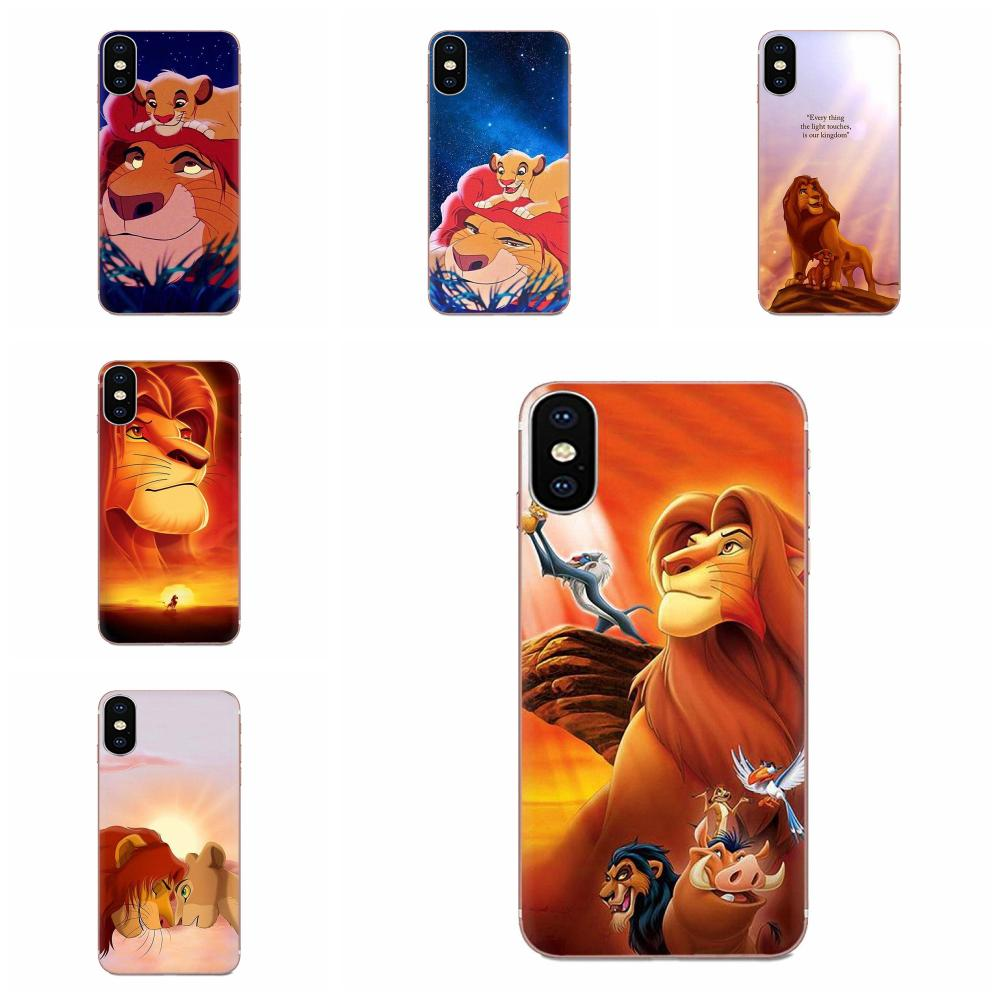 The Lion King Colourful Design Cell Phone Case For Samsung Galaxy A10 A20 A20E A3 A40 A5 A50 A7 J1 J3 J4 J5 J6 J7 2016 2017 2018