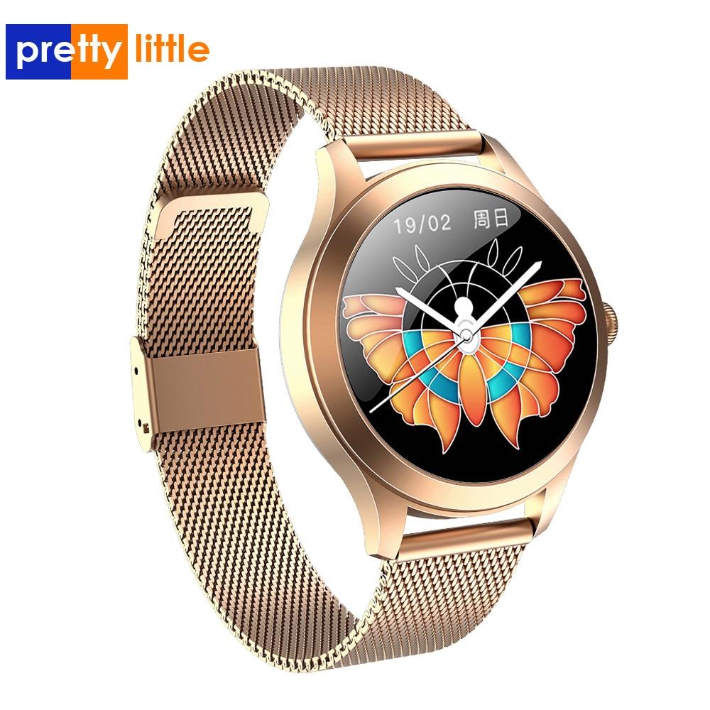 ¡Novedad de 2020! Relojes inteligentes Kw10 Pro para mujer IP68, reloj dinámico resistente al agua, reloj Digital femenino, reloj inteligente para Android IOS