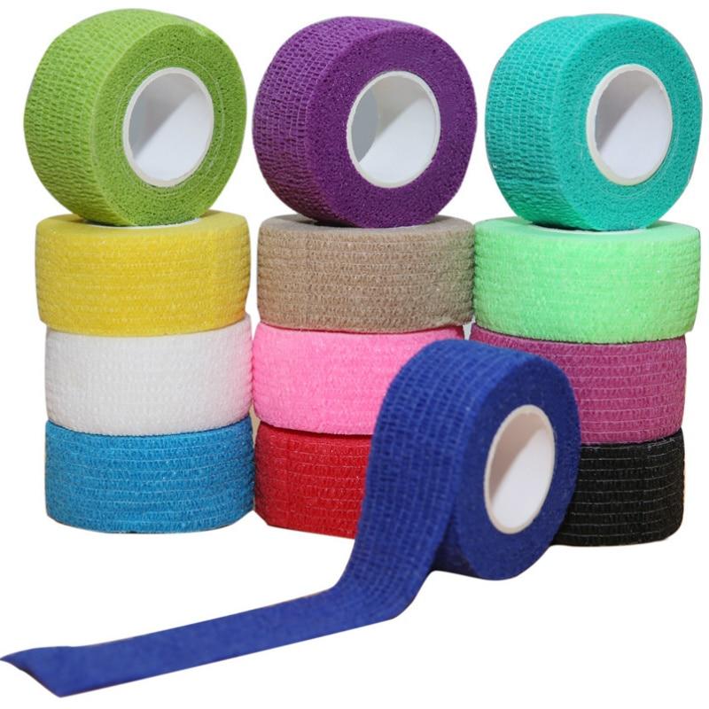 4.5m Sports Self Adhesive Bandage Athletic Wrap Elastoplast Tape Breathable Safety Protector Ankle K