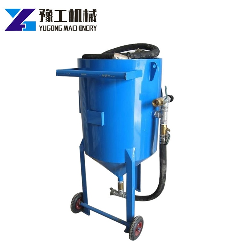 Portable Automatic And Semi-Automatic Industrial Sand Blasting Machine For Surface Preparation anti-rust automatic dustless enlarge