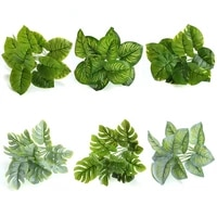 new arrival artificial plant wall plant evergreen spray white turtle fake garden plant for home wedding decoration