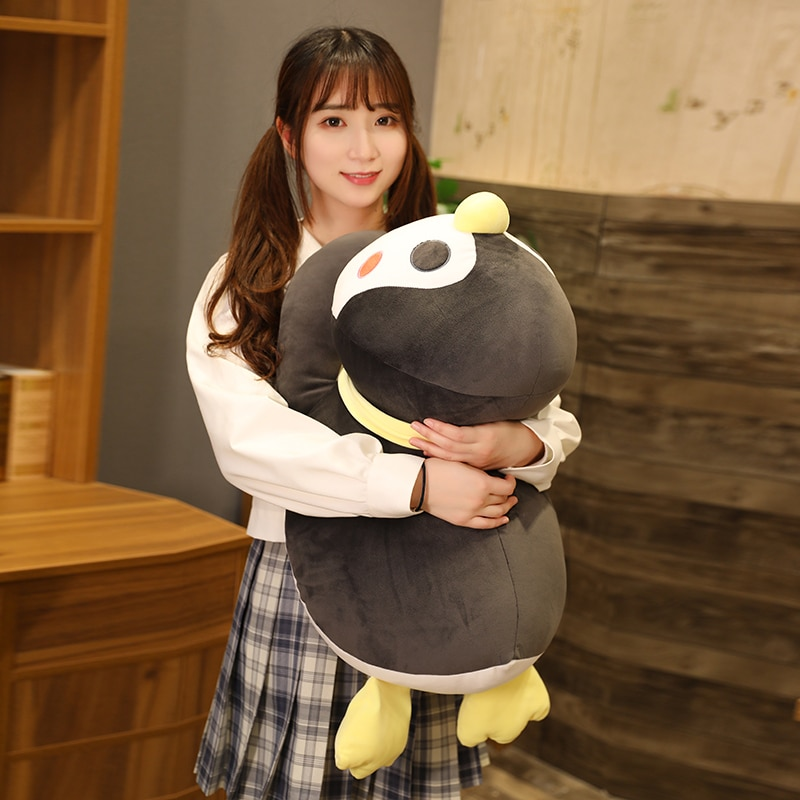 Hot Big Soft Fat Penguin Plush Toys Stuffed Cartoon Animal Doll Fashion Toy for Kids Baby Cute Girls Christmas Birthday Gift  - buy with discount