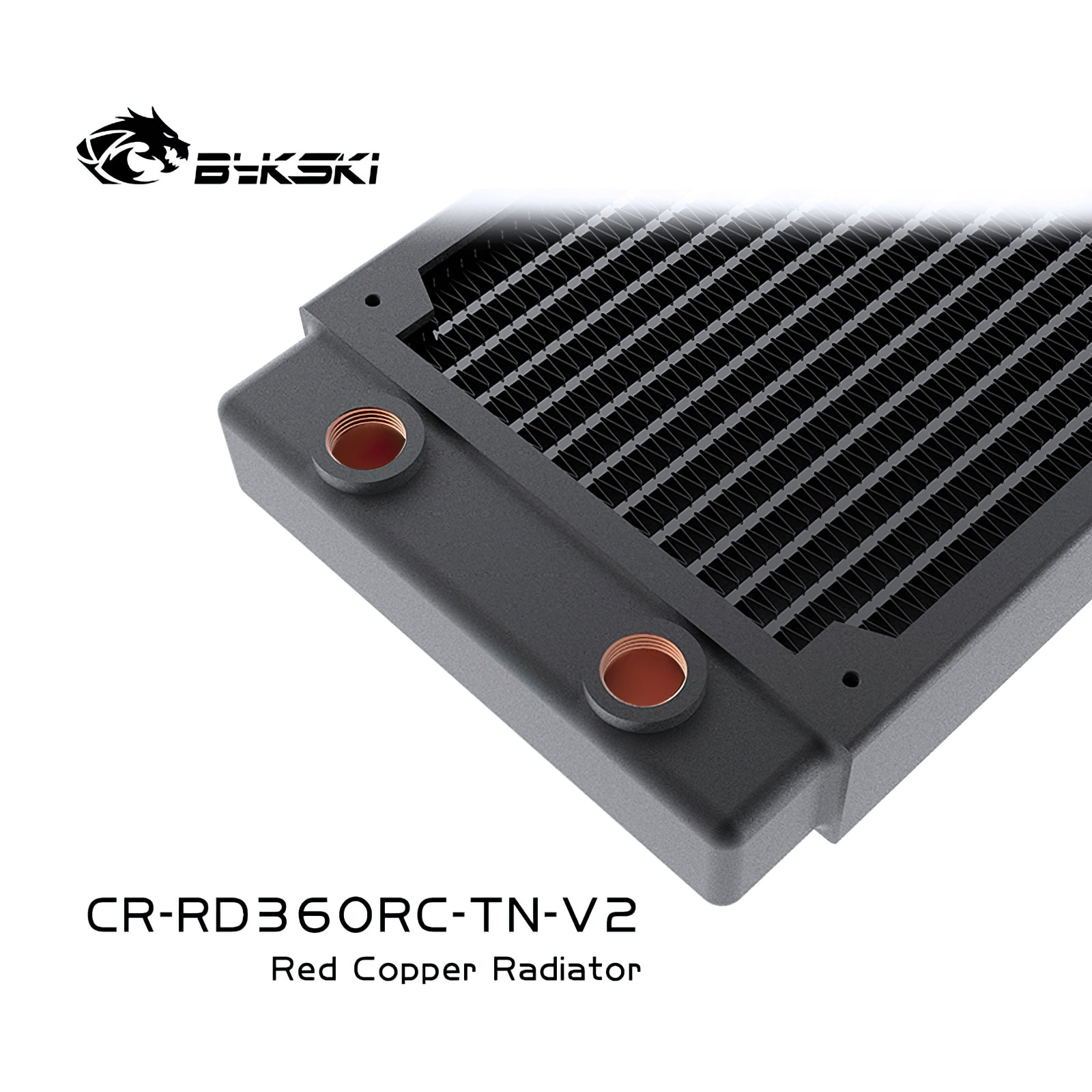 Bykski CR-RD360RC-Tn-V2 360mm High Performance Copper Radiator Heat Exchanger enlarge