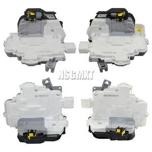 AP01 Pair Front & Rear Door Lock Actuators Mechanism for Audi A3 A6 Allroad  A8 RHD 2008-2013 4F2837015E 4F0839015