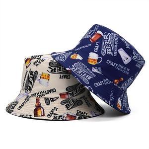 2021 Cotton four seasons Letter Print Bucket Hat Fisherman Hat Outdoor Travel Hat Sun Cap for Men and Women 372
