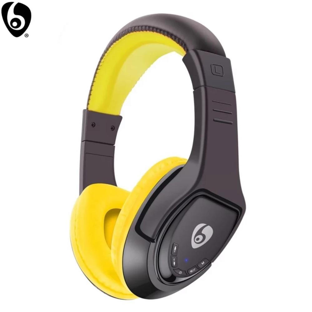OVLENG MX333 Bluetooth Wireless Stereo Music Headset Foldable with Microphone FM Raido for Smart Devices MP3-Player Walkman