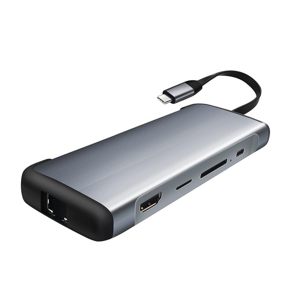 LIOEO USB HUB C HUB to Multi USB 3.0 HDMI Adapter Dock for MacBook Pro Accessories USB-C Type C 3.1 Splitter 3 Port USB C HUBN enlarge