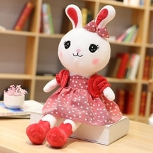 50/70/90/110cm New Cute Rabbit With Skirt Plush Toys Bunny Stuffed Dolls Kids Toys Baby Appease Girl