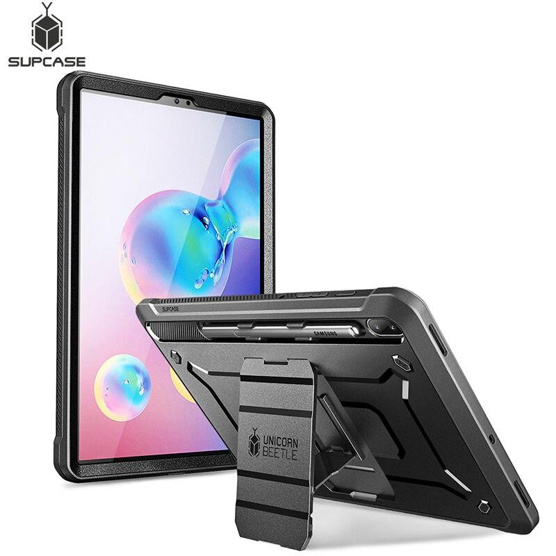 Чехол для Galaxy Tab S6 10,5 дюймов (2019) SM-T860/T865/T867 SUPCASE UB Pro Прочный чехол со встроенной защитной пленкой