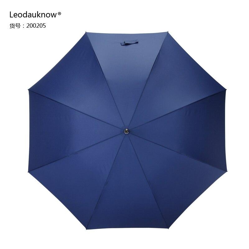 Business Big Size Umbrella Black Men Luxury Windproof Long Handle Umbrella Waterproof Large Regenschirm Living Utensils EI50UA enlarge