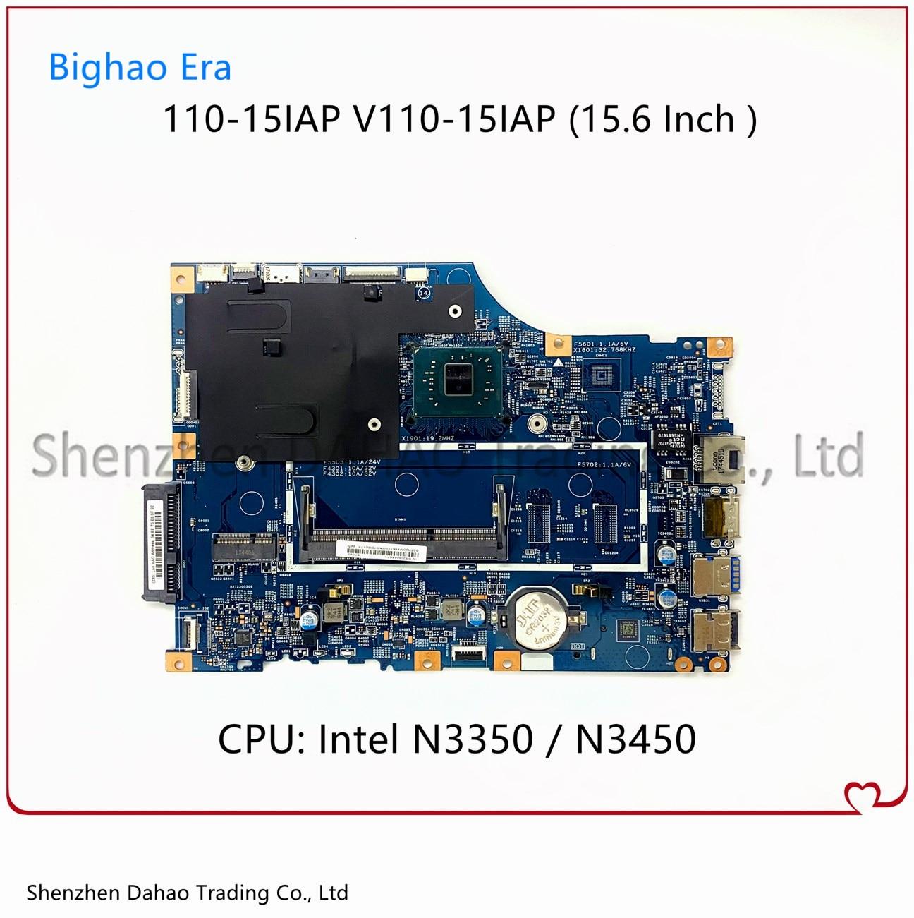 لينوفو V110 110-15IAP V110-15iAP اللوحة المحمول 15270-1 448.08A03.0011 مع N3350/N3450 CPU DDR3L 100% اختبار بالكامل