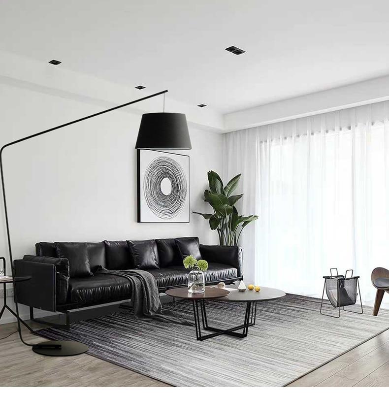 Современные металлические торшер большой напольный светильник гостиная спальня