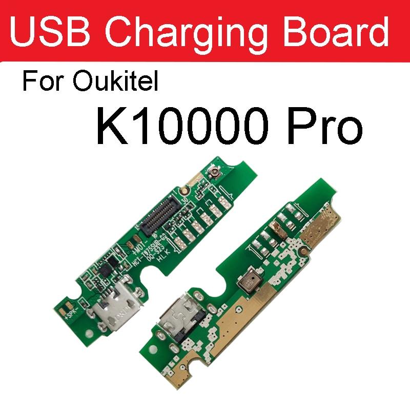 100% oryginalna płytka ładująca USB dla Oukitel K10000 Pro ładowarka gniazdo USB wtyczka Port zamienna płyta części akcesoria