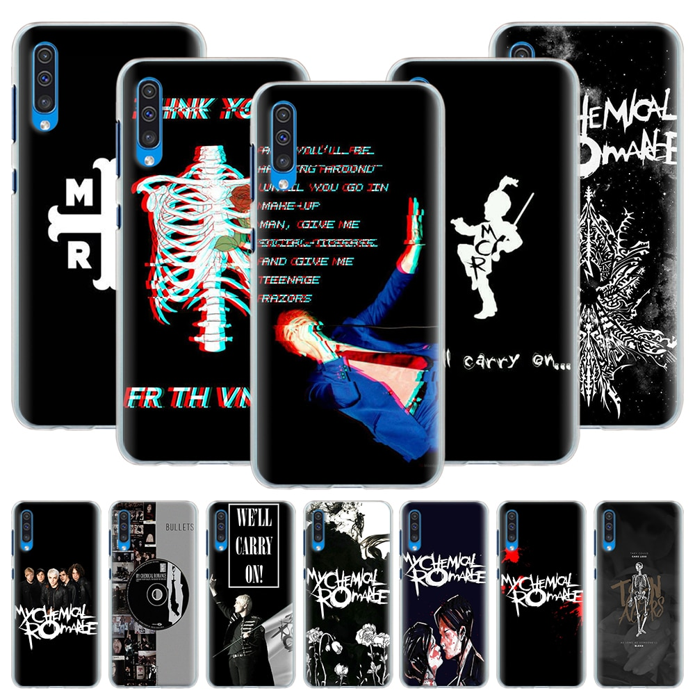 Mi Romance químico caso para Samsung Galaxy A50 A70 A51 A71 5G A11 A31 A21 A91 A10 A10e A20 A30 A40 duro cubierta Capa