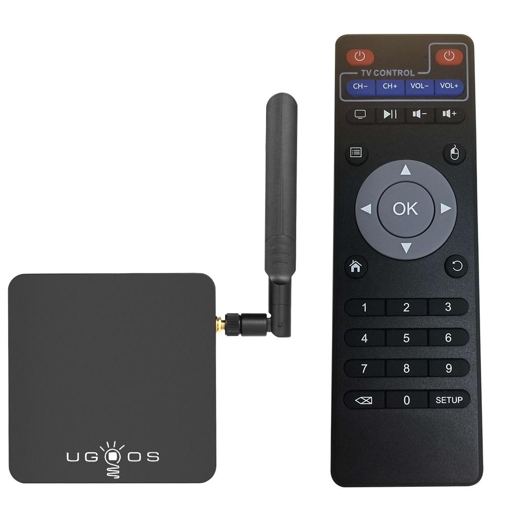 UGOOS AM3 Inteligente Android 7.1 TV Box Amlogic S912 Octa-core64Bits VP9 HDR 2GB/16GB 2.4G & 5G WiFi Miracast HD Media Player Plug UE