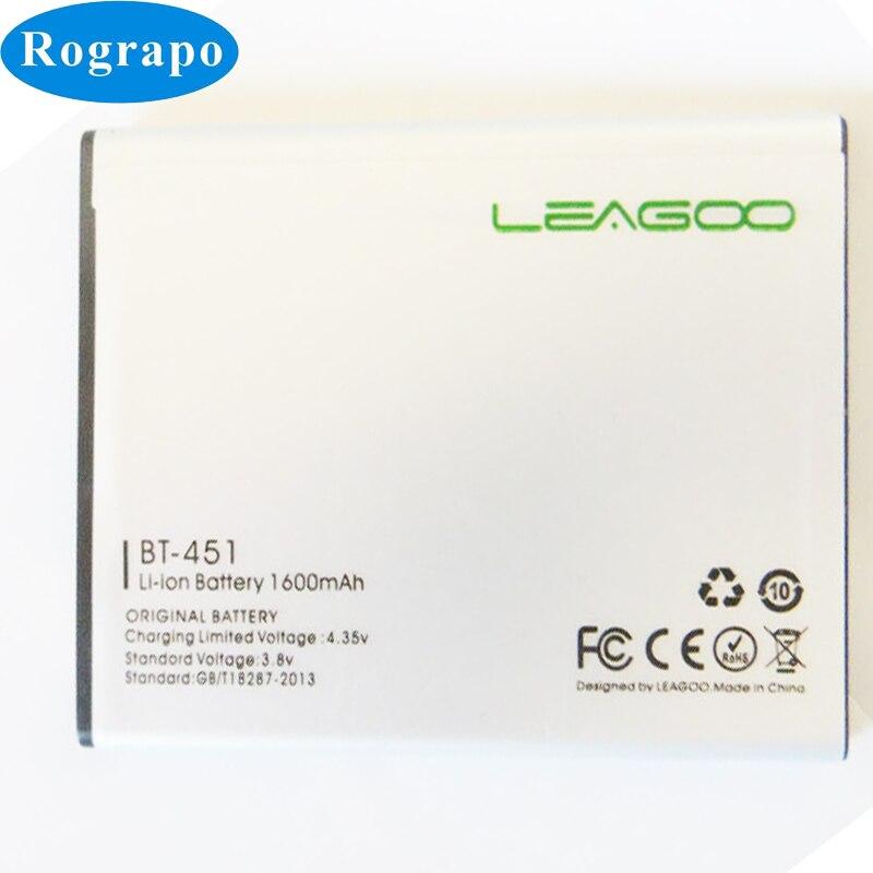 Nuevo 3,8 V 1600mAh BT-451 batería de repuesto para Leagoo BT451 Lead...