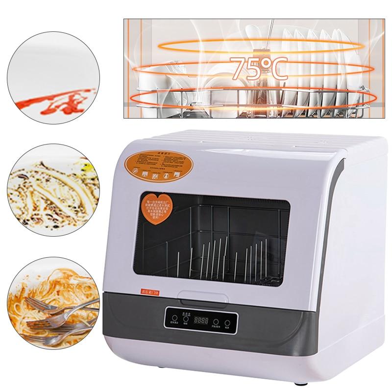 Dishwasher Full-Automatic Domestic Desktop Small Disinfection Cabinet Mini Intelligent Embedded Mini Washing Machine