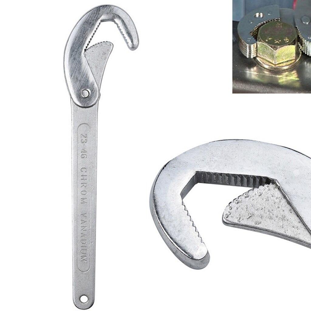 Фото - Универсальный ключ гаечный ключ для ремонта ванной комнаты Ручные Инструменты Открытие гаечный ключ Регулируемый ключ гаечный ключ инстру... ключ izeltas 700050070