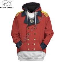3D Cosplay Tecumseh Custom Hoodies Apparel For Men/Women Harajuku Fashion Tribal chief Sweatshirt Casual Jacket Pullover DW0049