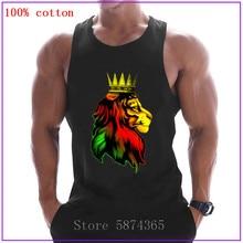 Royal Reggae León Rasta imprimir hombres Tank Tops culturismo Camiseta deportiva sin mangas hombres gimnasios ropa algodón chaleco 2020